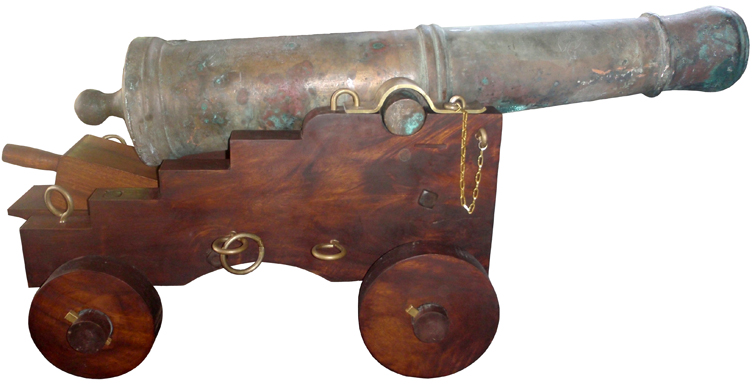 1801 spanish cannon